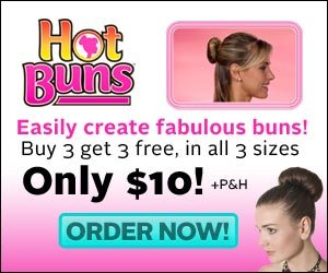 Hot Buns Hair Buns Styling Tool Sophisticated UpDos