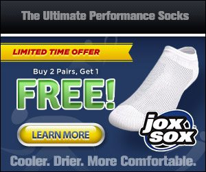 Jox Sox Performance Sports Socks Fit Better