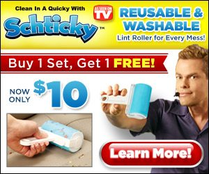 The Schticky Reusable Sticky Lint Rollers Vince Offer