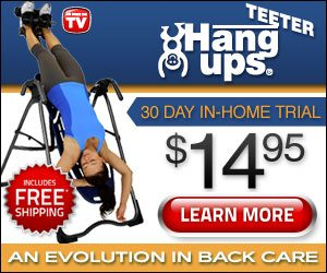 Teeter Hang Ups Inversion Table for Back Care