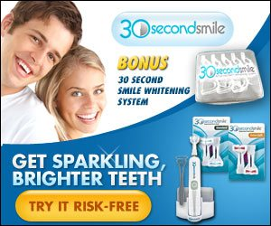 30 Second Smile White Teeth Tooth Whitening