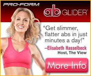 Ab Glider by Pro Form Abs Gliding Machine Elisabeth Hasslebeck