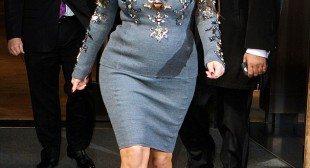 Helena Christensen defends pregnant Kim Kardashian curves branding