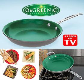 OrGreenic Green Frying Pan Cookware
