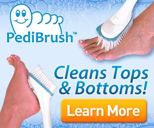 Pedibrush Spa Treatment for Your Feet