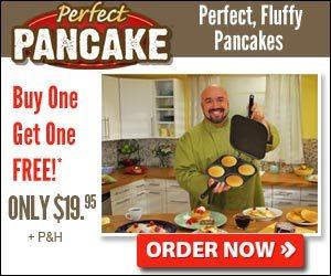 Perfect Pancake Maker 4 Flipping Pancakes Pan