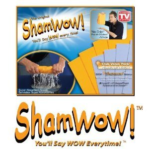 "ShamWow Cloths As Seen On TV You'll Say ""Wow""  Every time"