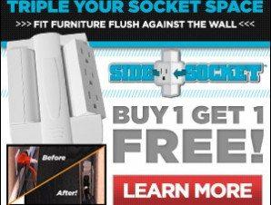 Side Pocket Swivel Surge Power Supply – As Seen On TV