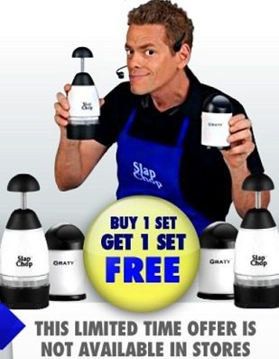 Slap Chop Vince Offer Food Chopper