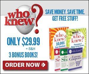 Who Knew Books Save Money Free Stuff