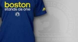 Adidas Boston T-Shirt Supports Marathon Victims' Fund