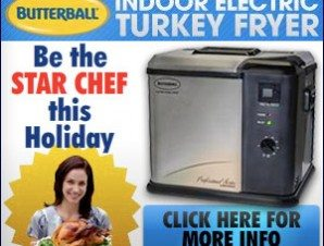 Butterball Turkey Fryer Kitchen Appliance Fried Turkey