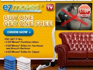 Ez Moves Furniture Moving Sliding System Seen On TV