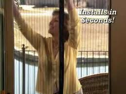 Magic Mesh Screen Door Magically Closes Using Magnets