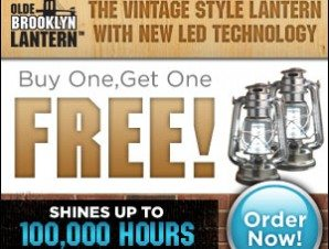 Olde Brooklyn Lantern Vintage Style Lamp Led Technology