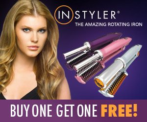 Instyler Rotating Hair Iron Styling Tools