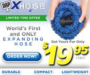 Blue Xhose Garden Hose