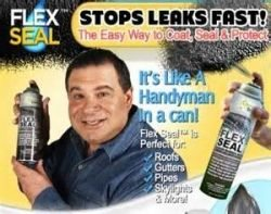 Flex Seal Spray  As Seen On TV Sealer