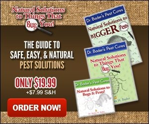Natural Solutions Book to Pest Control by Dr. Bader