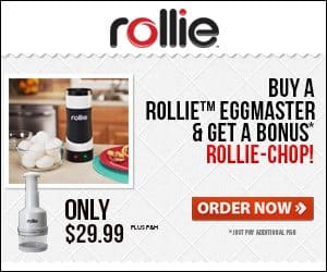 Rollie Eggmaster Make Pop Up Treats in Egg Cooker