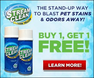 Stream Clean Odor and Stain Remover Spray