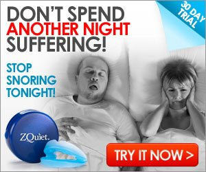 Zquiet Stop Snoring Mouthpiece Device