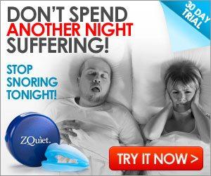 Zquiet Stop Snoring Mouthpiece Device