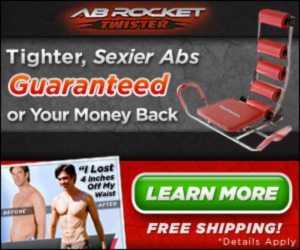 Ab Rocket Twister Just sit and rock your way to great looking abs!