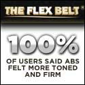 The Flex Belt and Gel Pads Get Strong Toned Abs in Weeks