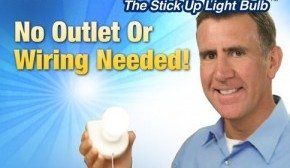 InstaBulb The Stick Up Light Bulb