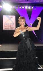 Celebrity Forbes Riley Competes for Best Female TV Presenter of the Year