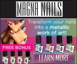 Magna Nails Magnetic Nail  Polish As Seen On TV