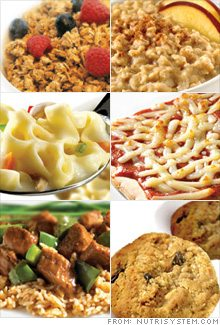 Nutrisystem Portion Control Foods That Taste Great!