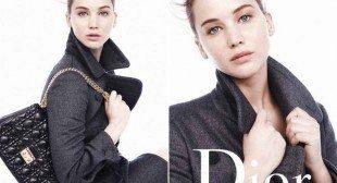 Jennifer Lawrence Goes Au Naturel for New Dior Ads