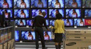 Gadget show unveils TVs that watch viewers