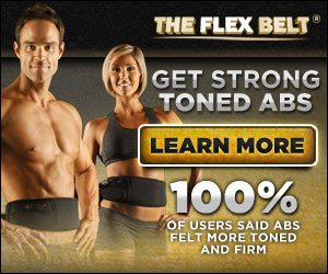 Flex Belt Abs Abdominal Toning Belt