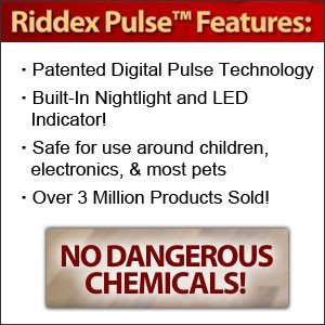 Riddex Pulse Stop Pests from Entering Your Home