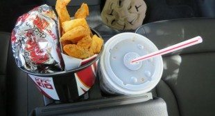 Does KFC's new snack cup work in cars' cupholders?