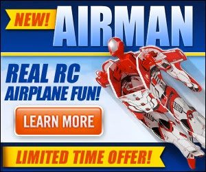Super Hero Remote Control Airplane – Airman