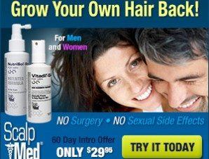 Scalp Med Hairloss Formulas for Men and Women