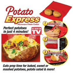 Potato Express Microwave Bag for Perfect Potatoes