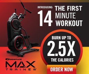 Bowflex Max Trainer Burn More Calories on the M5 and M3