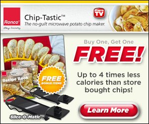 ChipTastic Microwave Potato Chip Maker by Ronco