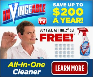 InVinceable by Vince Tablets All-In-One Cleaner