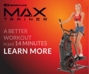 New Bowflex Max Trainer with Interval Cardio Workout