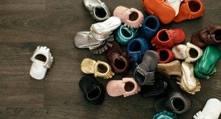Freshly Picked Adorable Baby Moccasins