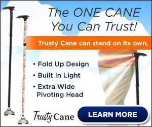 Trusty Cane Seen On The Hallmark Channel