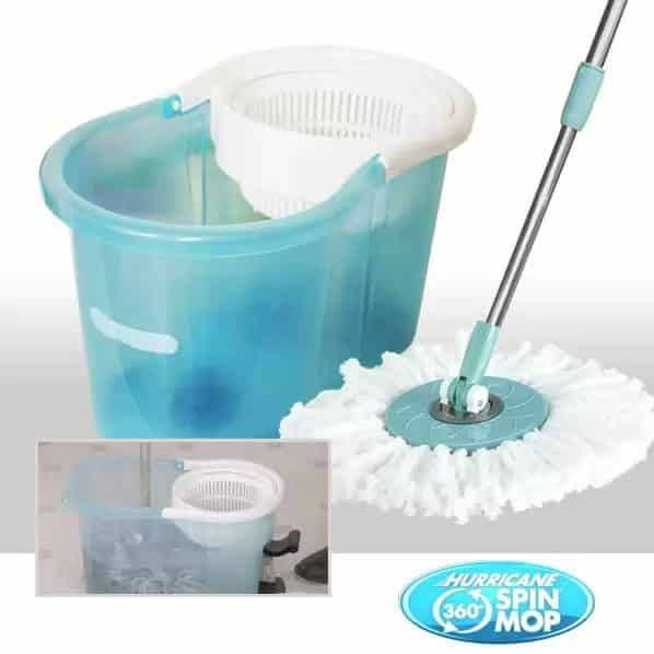 Hurricane Spin Mop Washes And Dries