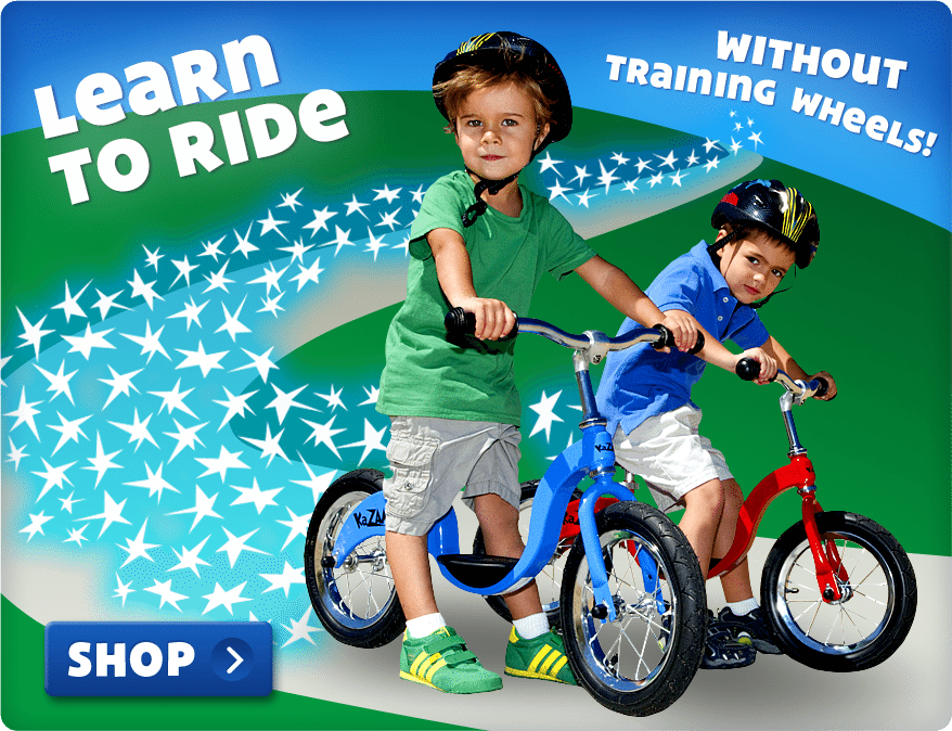 KaZAM Balance Bikes - Teach Kids How to Ride a Bike