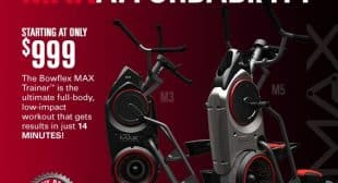 Max Trainer by Bowflex Introducing the Bowflex Max Trainer